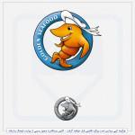 نمونه لوگو رستوران غذای دریایی طلایی