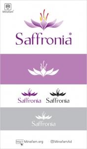 طراحی لوگو زعفران سافرونیا