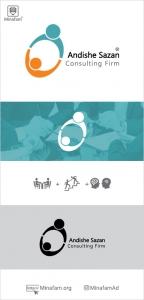 طراحی لوگو موسسه مشاوره امین