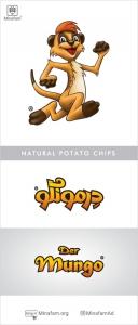 طراحی لوگو چپس درمونگو