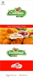 طراحی لوگو  صنایع غذایی آماده مزرعه سلامت